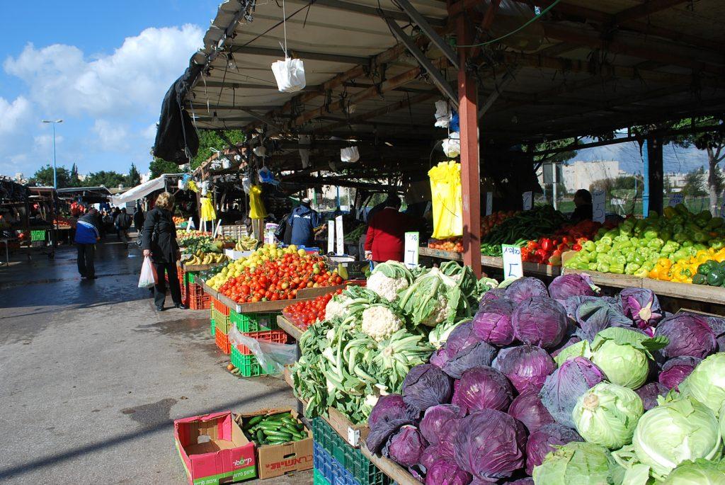 イスラエルのマーケット