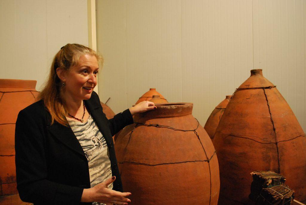 Kadama Winery のオーナー、Lina Slutzkinさん