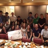 ヘブライ大学学生との交流会