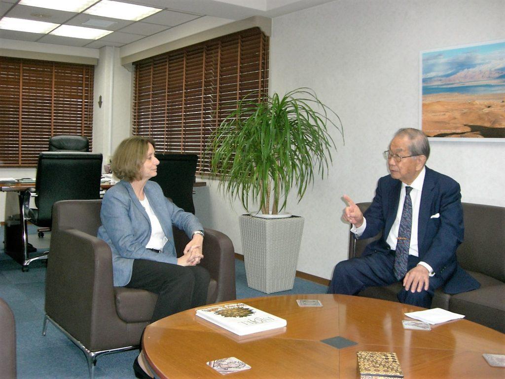 カハノフ大使と大野会長