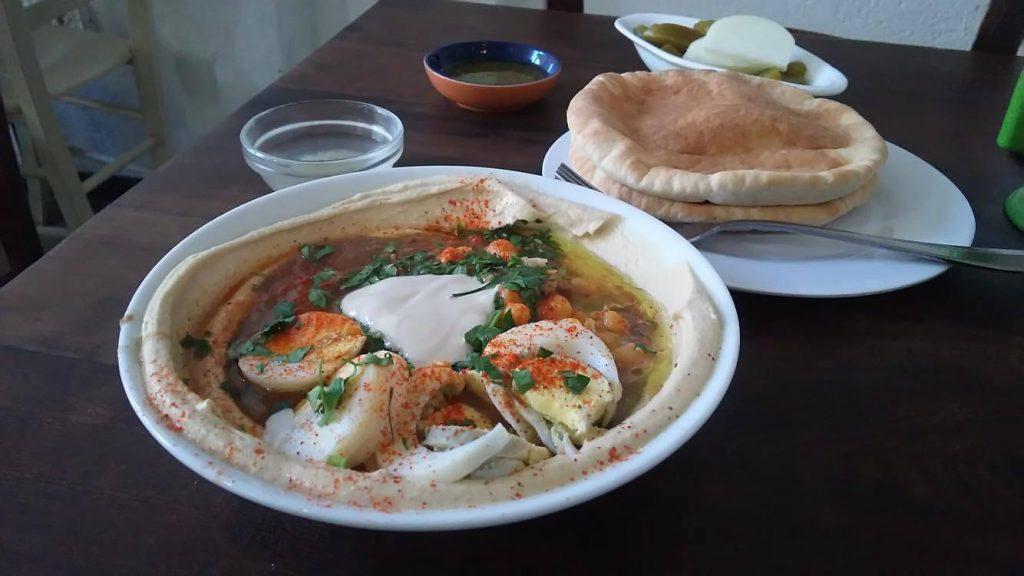 イスラエルの代表食フムス
